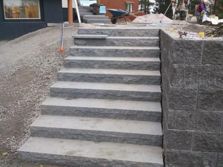 Granitsten trappa